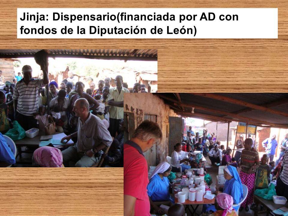 Jinja: Dispensario(financiada por AD con fondos de la Diputación de León)
