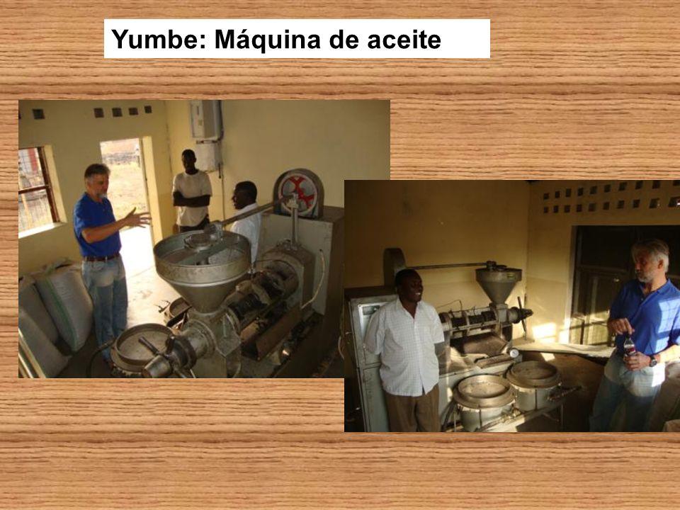 Yumbe: Máquina de aceite