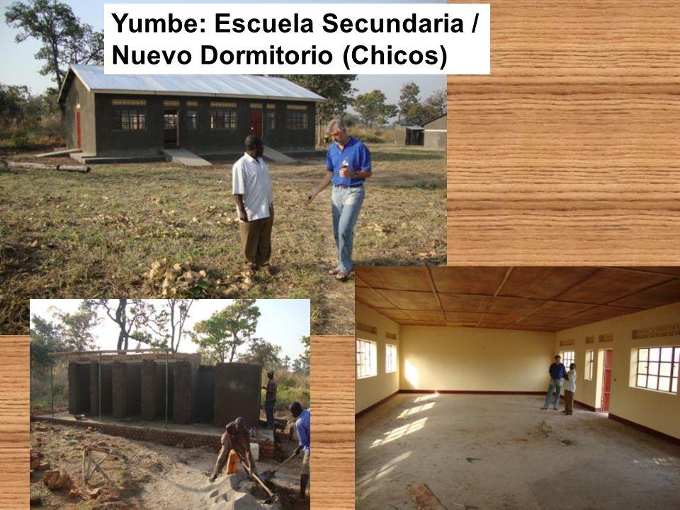Yumbe: Escuela Secundaria / Nuevo Dormitorio (Chicos)