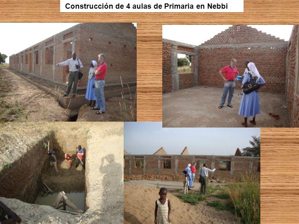 Construcción de 4 aulas de Primaria en Nebbi