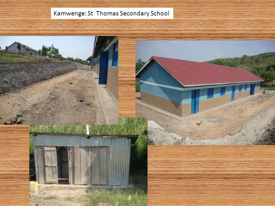 Kamwenge: St Thomas Secondary School