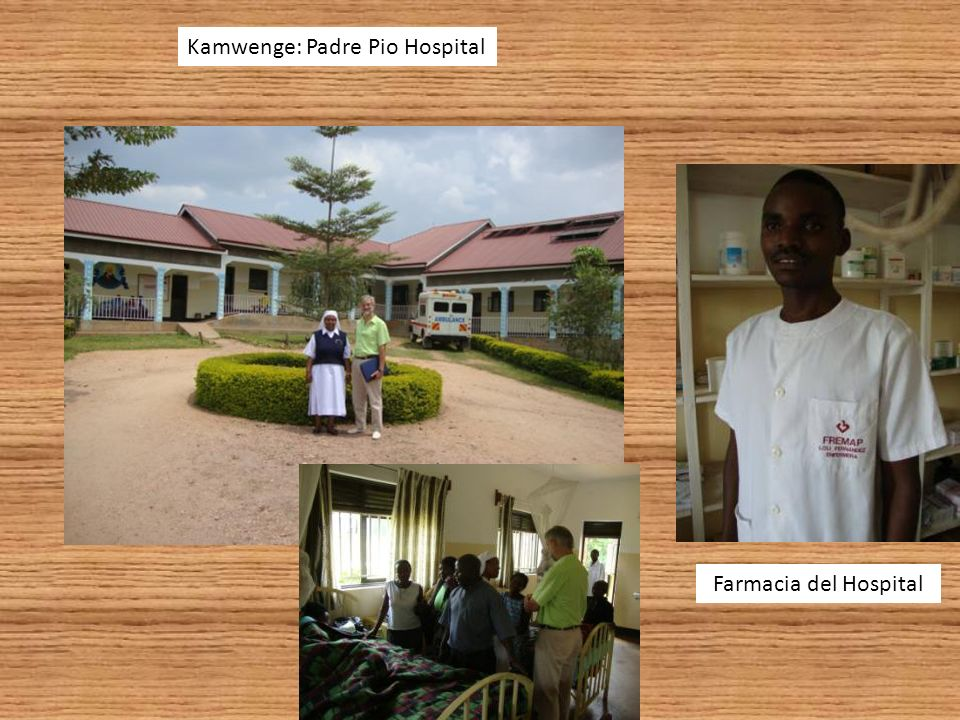 Kamwenge: Padre Pio Hospital Farmacia del Hospital