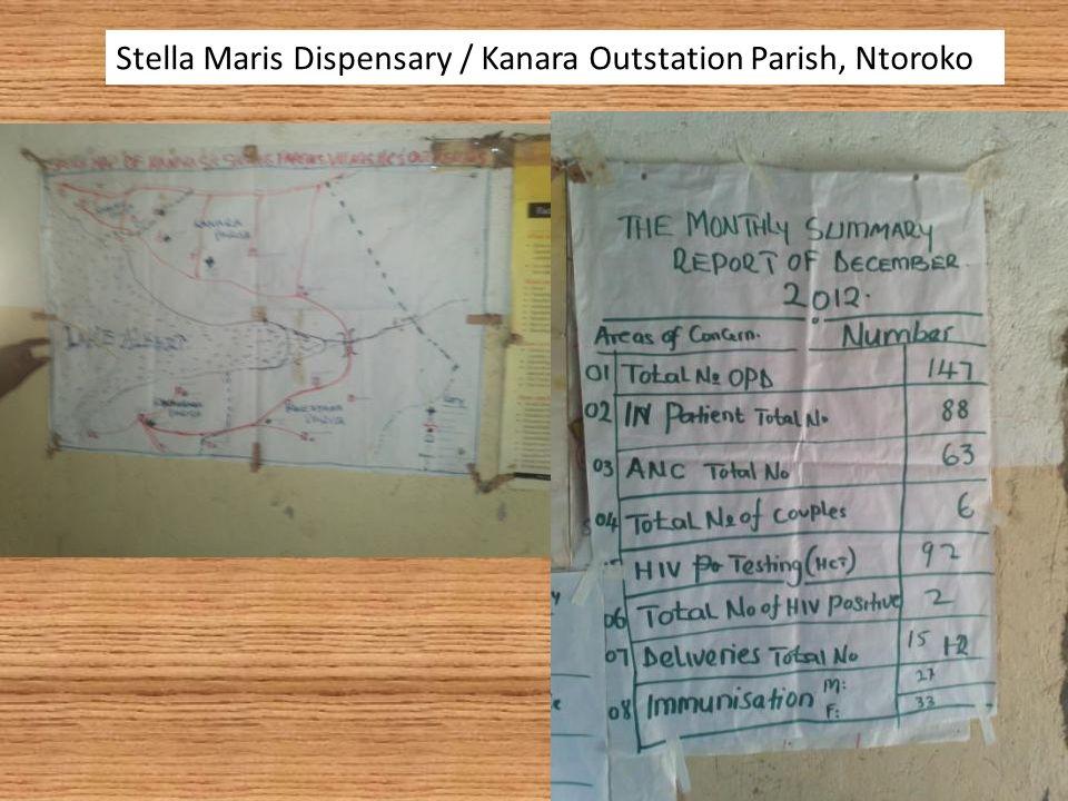 Stella Maris Dispensary / Kanara Outstation Parish, Ntoroko