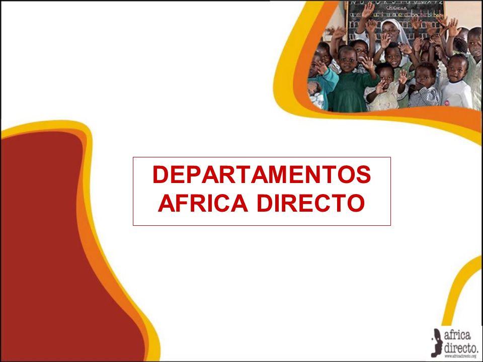DEPARTAMENTOS AFRICA DIRECTO