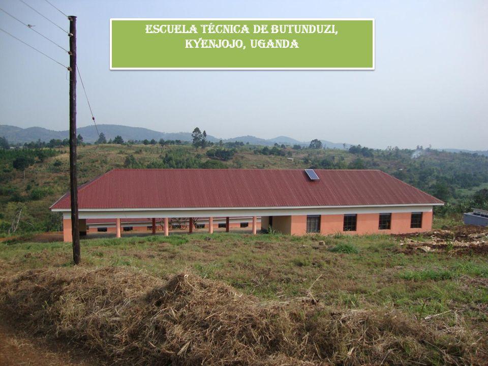 Escuela Técnica de Butunduzi, Kyenjojo, Uganda