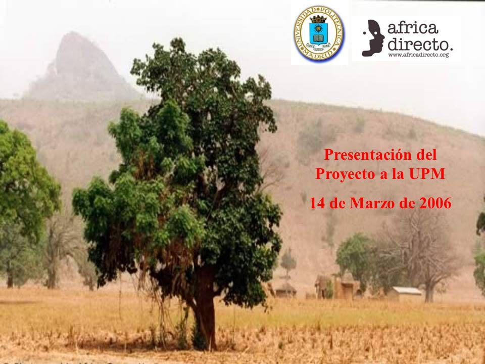 Presentación del Proyecto a la UPM 14 de Marzo de 2006