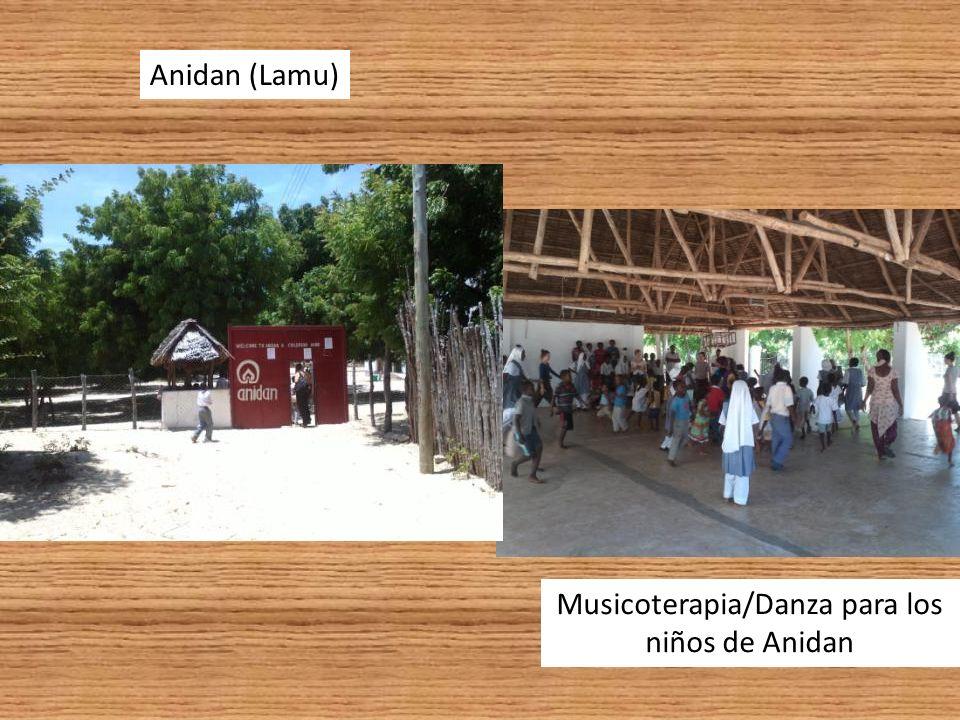 Anidan (Lamu) Musicoterapia/Danza para los niños de Anidan