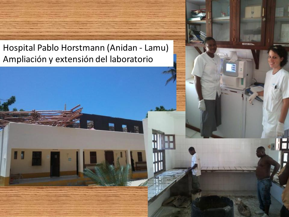 Ampliación y extensión del laboratorio