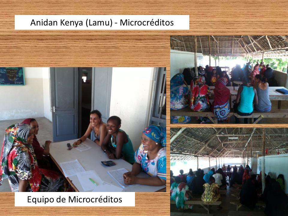 Anidan Kenya (Lamu) – Microcréditos Supervisión de Beneficiarias