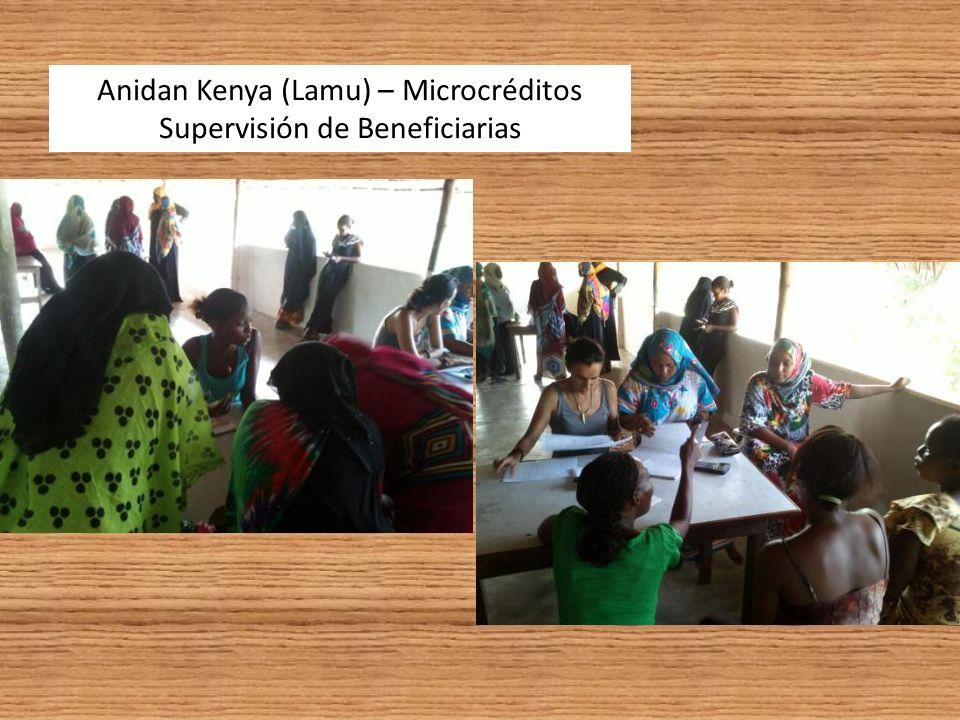 Anidan Kenya (Lamu) – Microcréditos La última de las casi 300 beneficiarias.