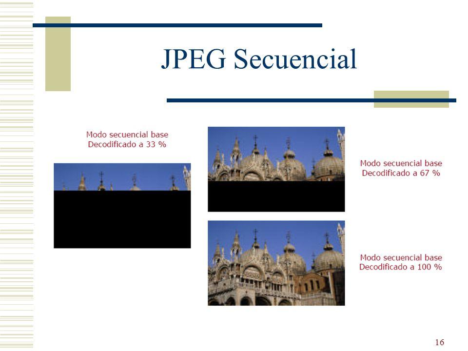16 JPEG Secuencial