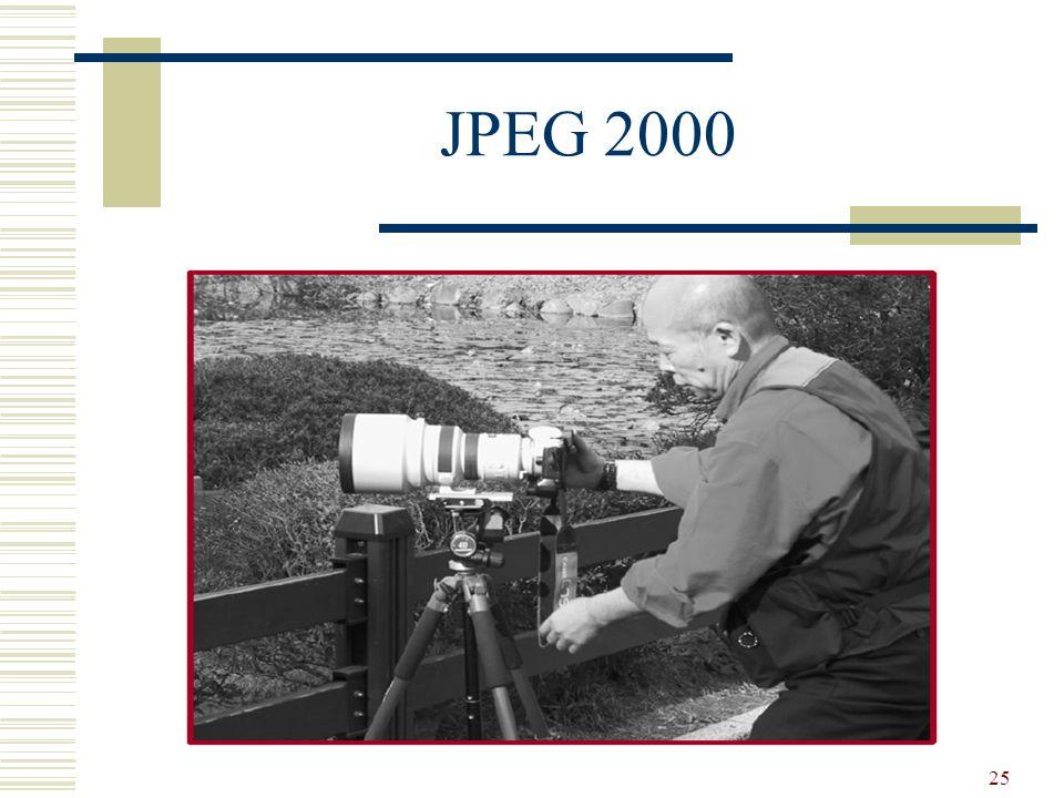 25 JPEG 2000