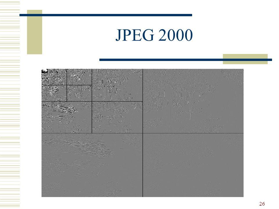26 JPEG 2000