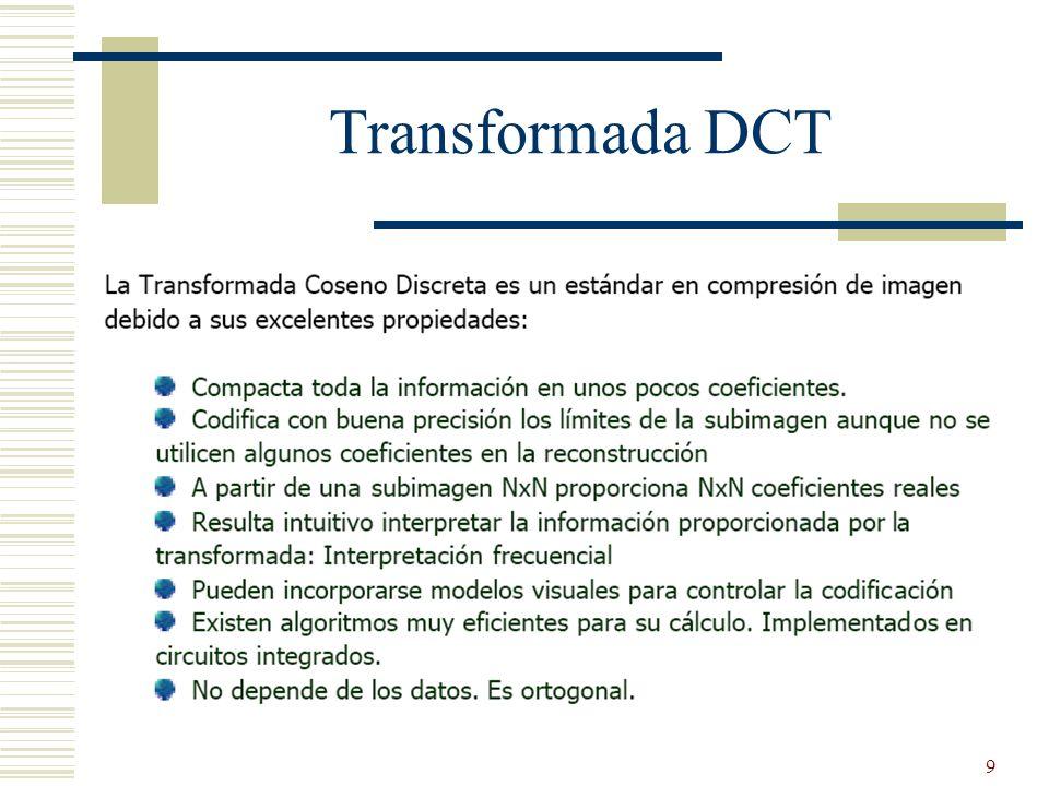 10 Transformada DCT