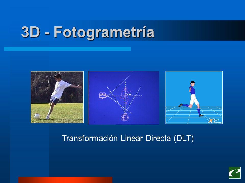 reproducción virtual del objeto o cuerpo analizados cálculo de la cinemática y la dinámica vinculados a este objeto o cuerpo 3D - Fotogrametría