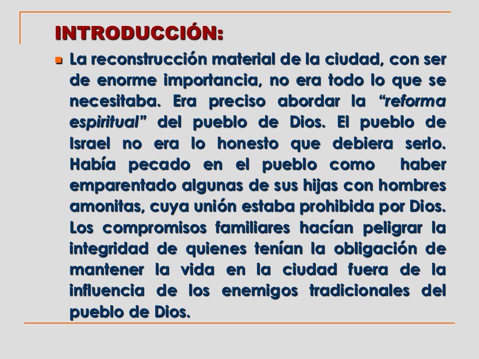 En la ciudad había hombres dispuestos a pactar con aquellos que eran sus enemigos y que habían procurado detener el programa de reconstrucción que Dios había establecido.