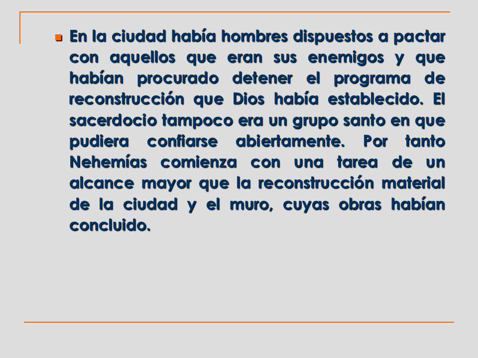 2.Los censados del pueblo (7:6) 2.1.Los descendientes de los que subieron del cautiverio.