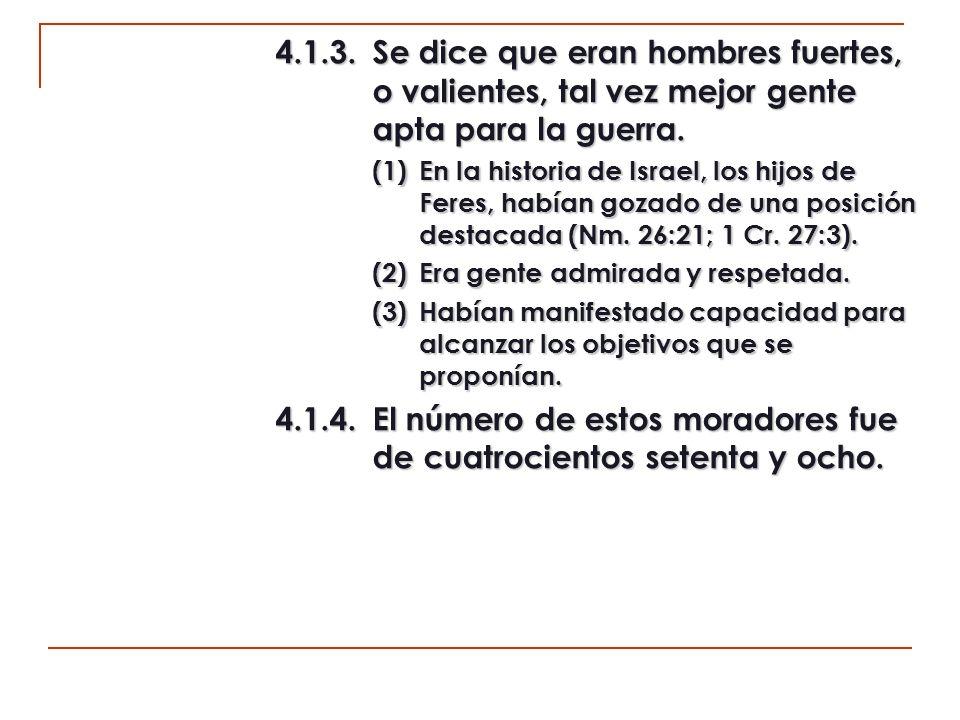 4.2.Asentados en Jerusalén de la tribu de Benjamín (vv.