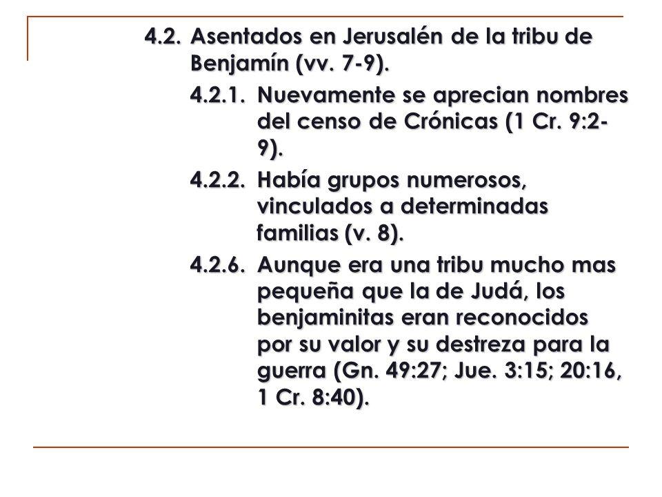 5.El gobierno de la ciudad (11:9).