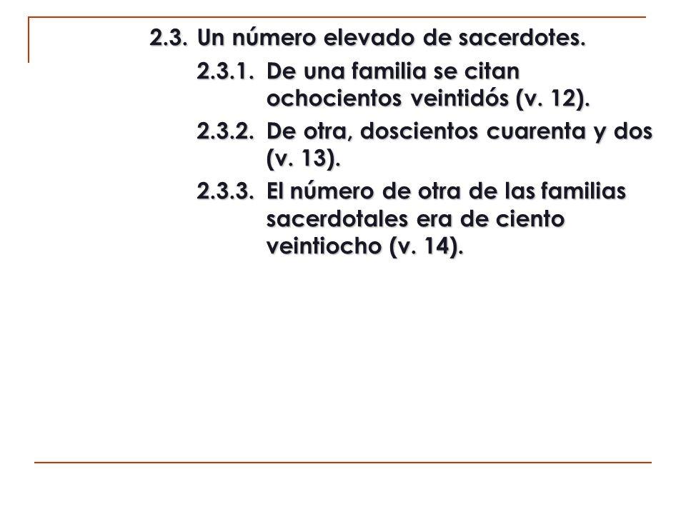 c1) La relación de los levitas (10:15-18).1. El detalle de los levitas (10:15-18).