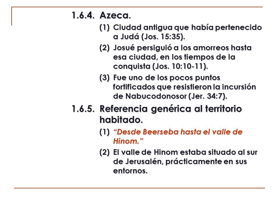 2.Relación de poblaciones de Benjamín (11:30-35).