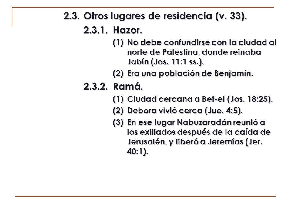 2.4.Una nueva relación de ciudades (v.34). 2.4.1.Hadid.