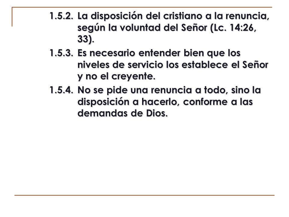 2.La aceptación de los guías propuestos.