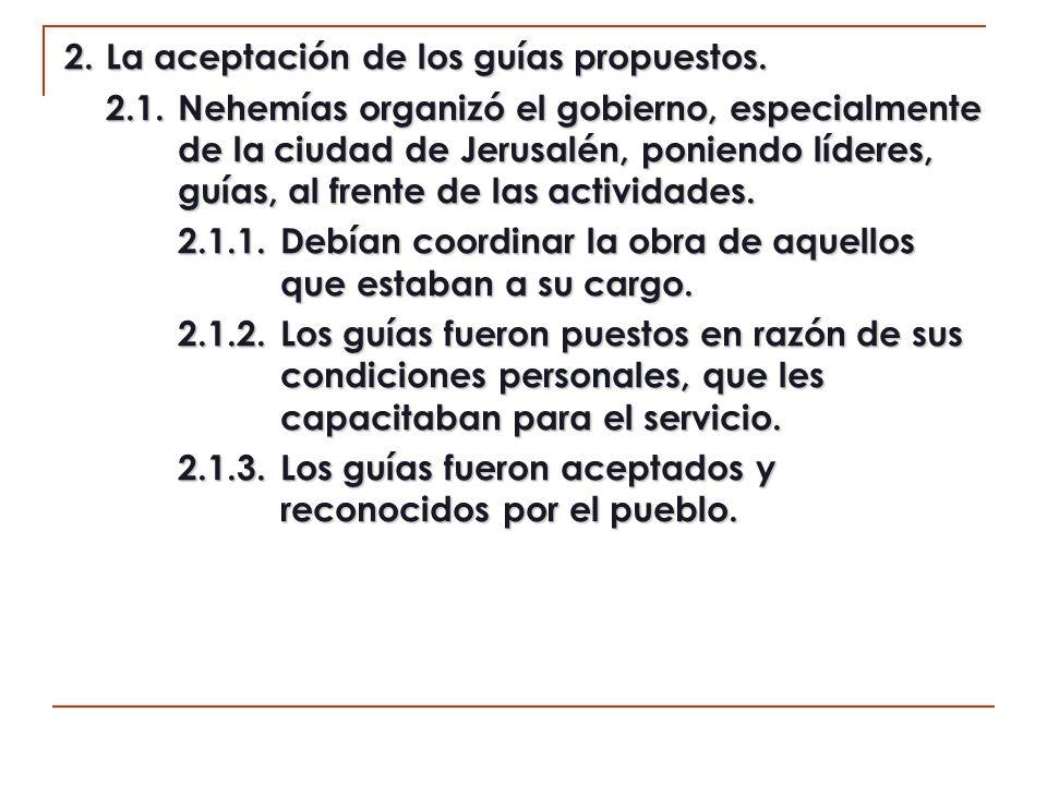 2.2.Los guías de la congregación, son reconocidos en razón al cumplimiento personal de las demandas bíblicas (1 Ti.