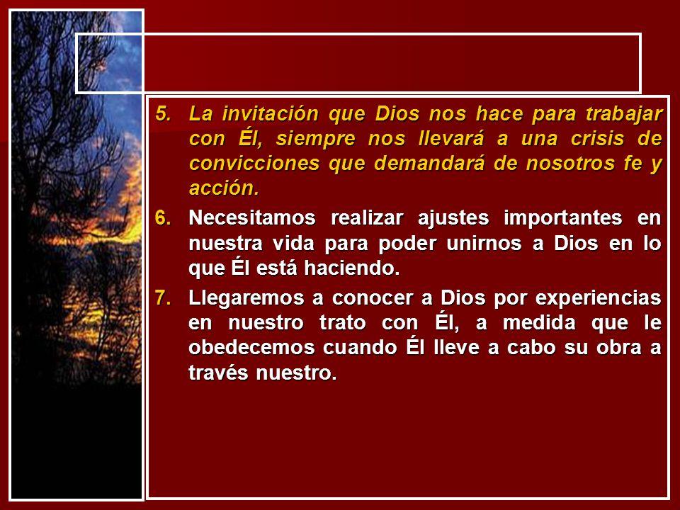 2.Sepamos entonces que cuando Dios nos asigne una misión, esta será siempre Tamaño Dios .