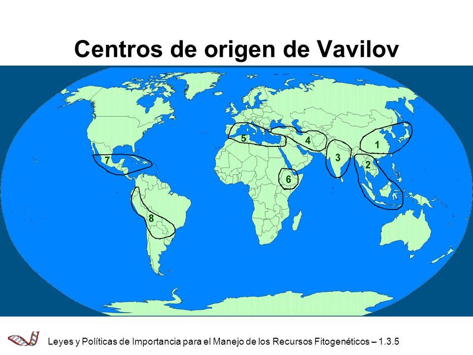 Referencias Five Continents N.I.Vavilov, IPGRI (copia facsímil) Crops and Man J.