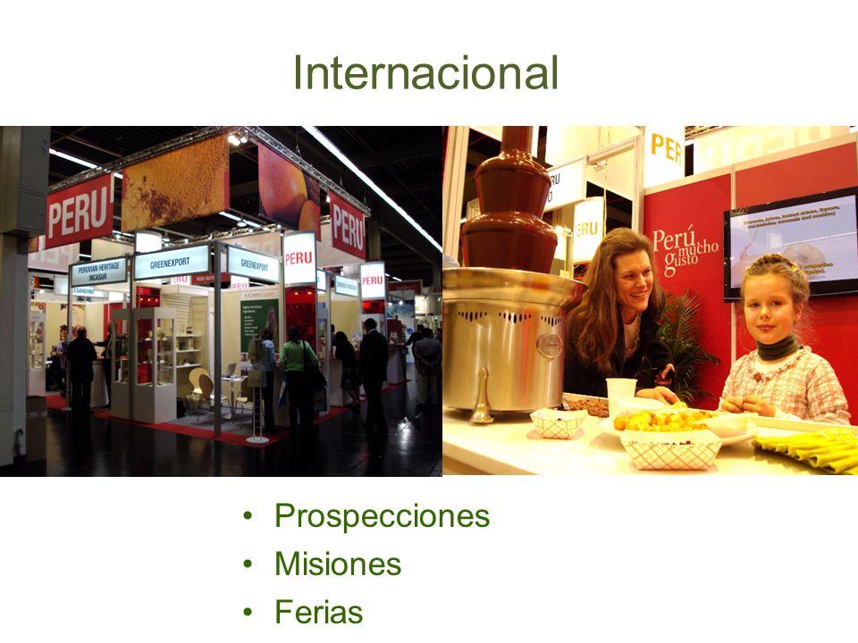 Prospecciones Misiones Ferias Internacional
