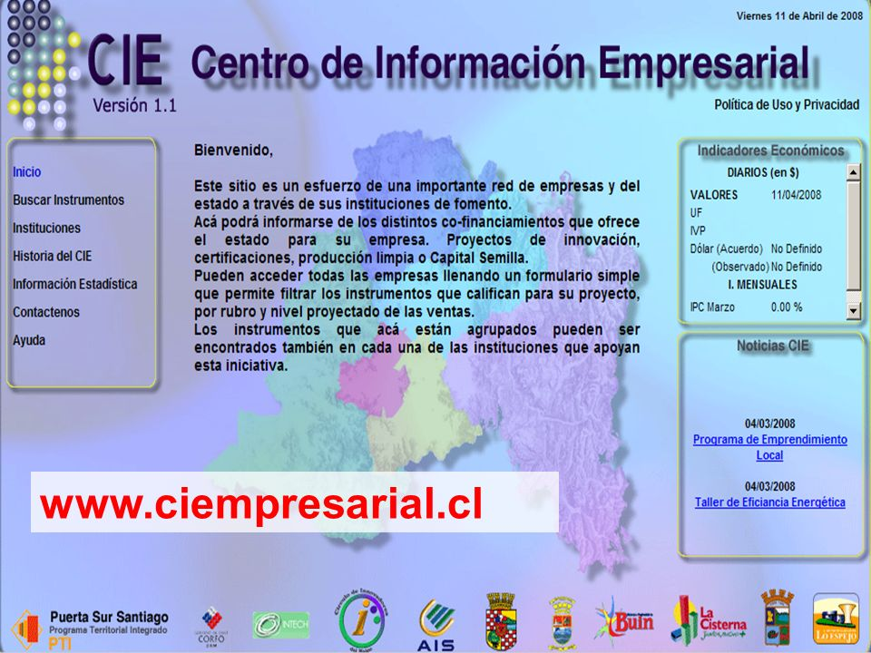 www.ciempresarial.cl