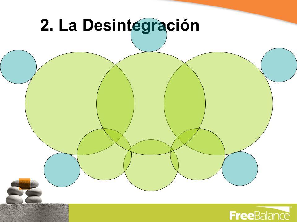 2. La Desintegración