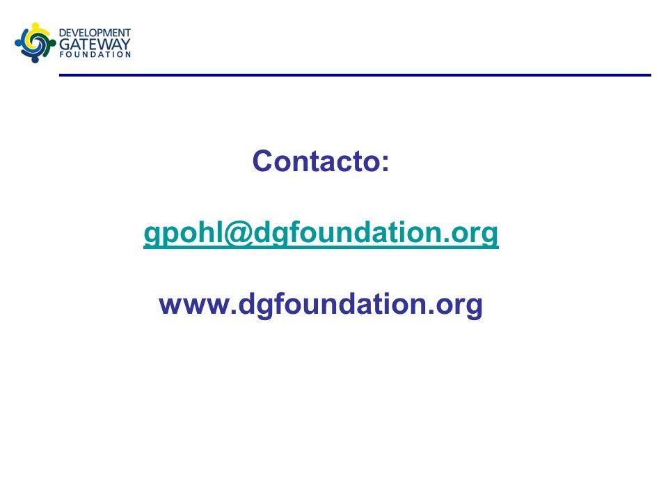 Plataforma de Gestión de la Ayuda (AMP) Preguntas?