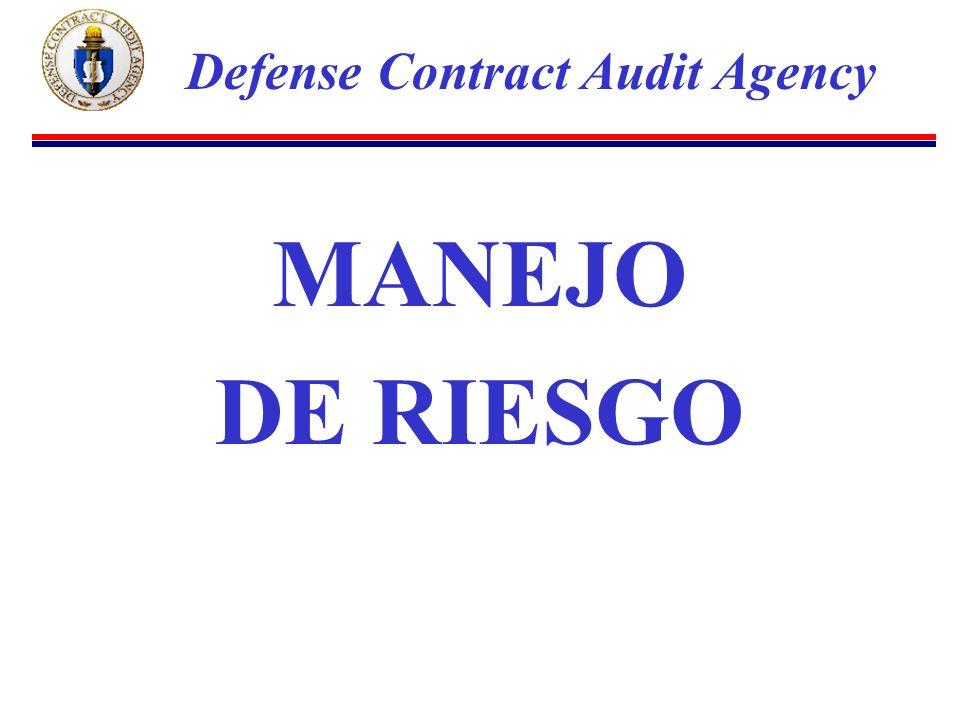 MANEJO DE RIESGO Defense Contract Audit Agency