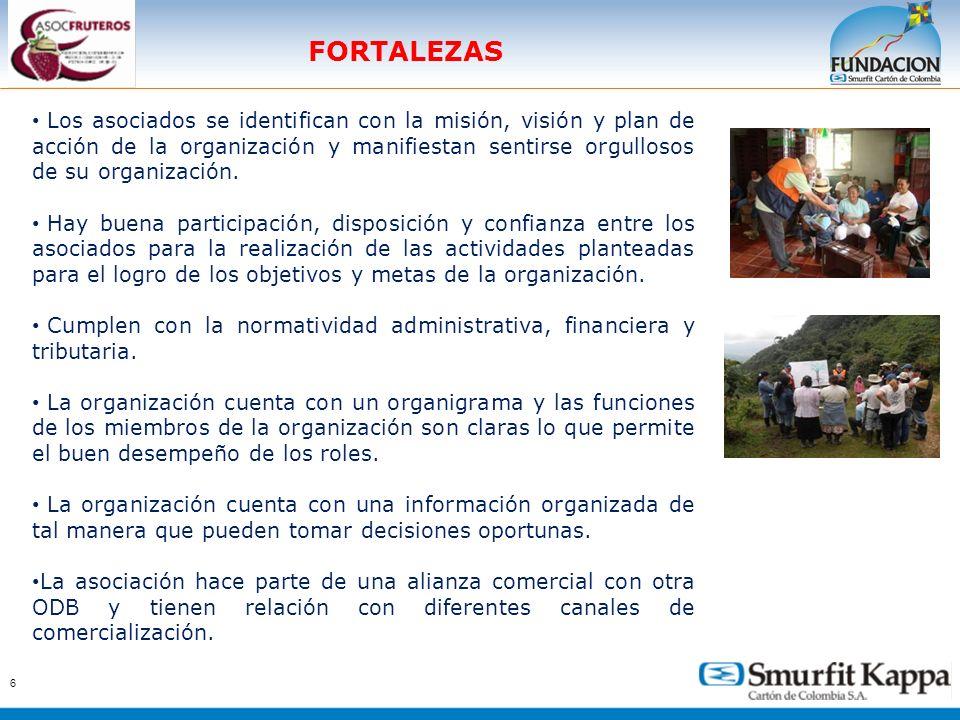 7 DEBILIDADES No se tiene establecido un proceso ordenado de evaluación y seguimiento de los procesos.