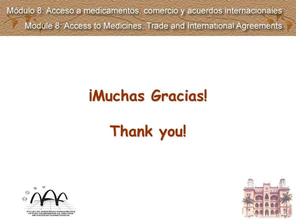 ¡Muchas Gracias! Thank you!