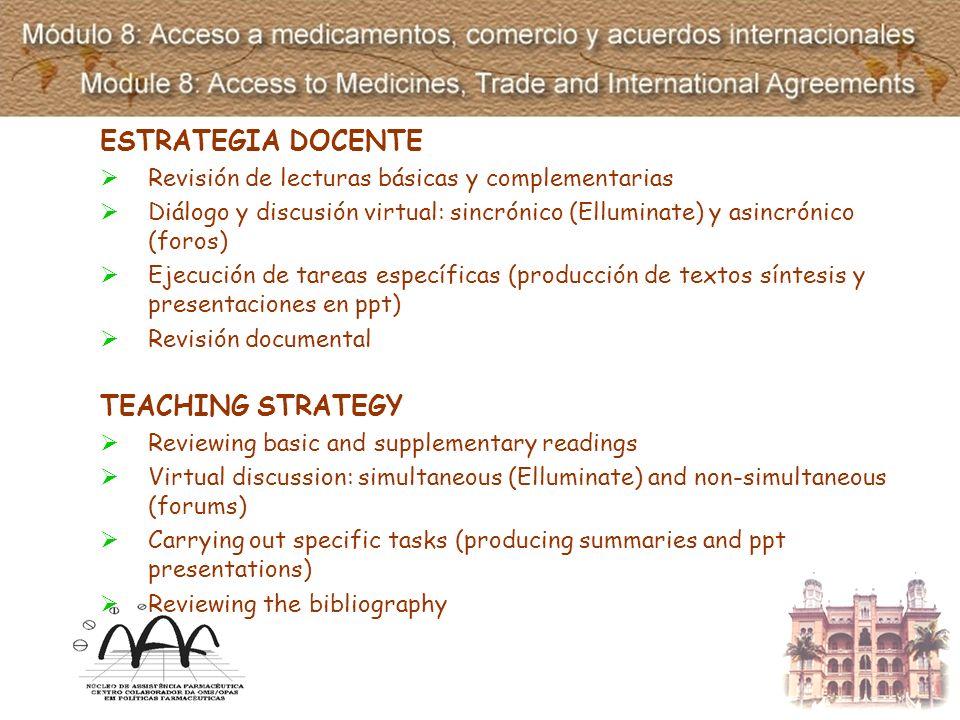 DESARROLLO DE LOS CONTENIDOS El módulo está estructurado en tres componentes temáticos: 1.