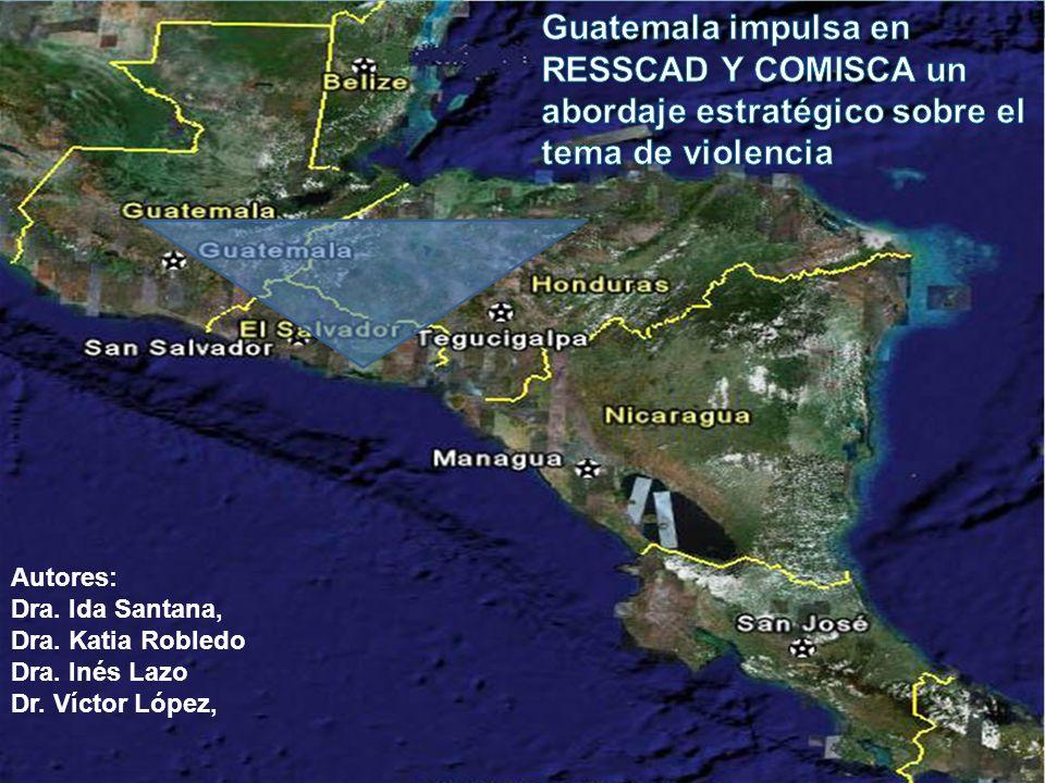 Justificación El Triángulo Norte presenta características propias de post-conflicto.
