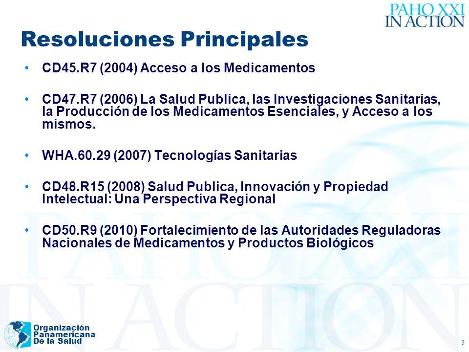 Organización Panamericana De la Salud 14 Observatorio Datos Esenciales y Perfiles
