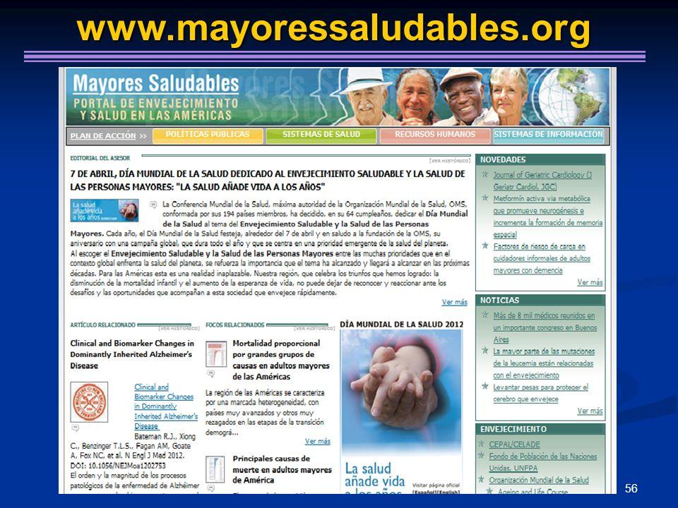 56 www.mayoressaludables.org www.mayoressaludables.org