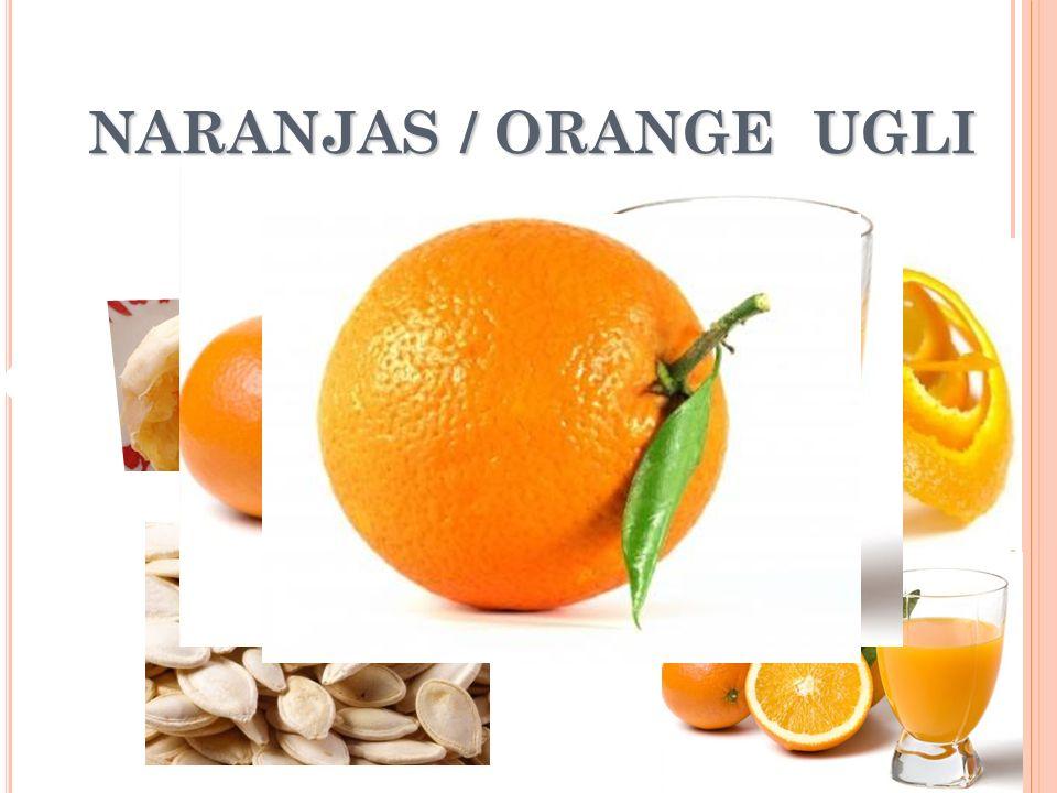 NARANJAS / ORANGE UGLI