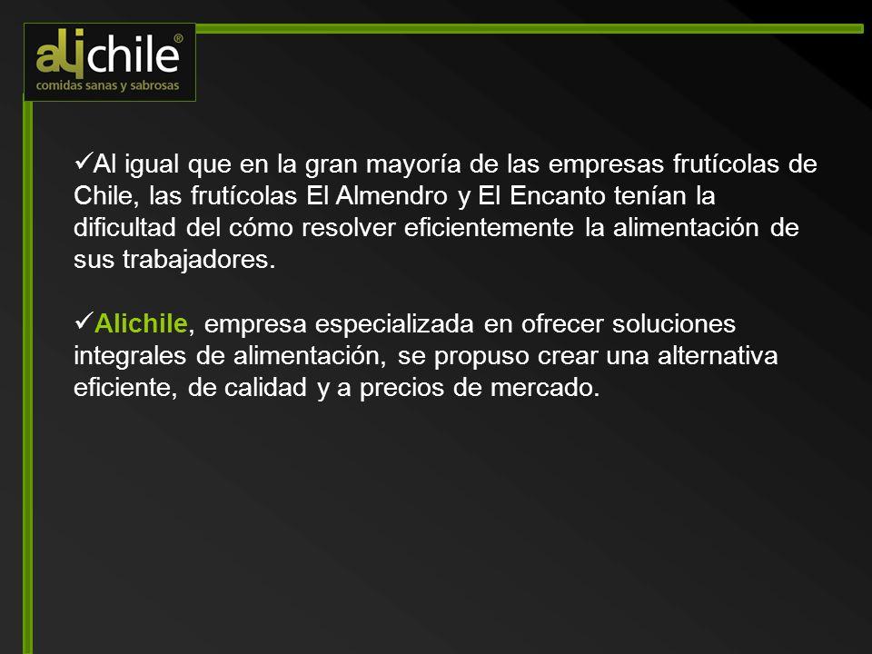 Alichile está asociado estratégicamente a una Planta Industrial de Alimentación que cuenta con una moderna infraestructura con tecnología cook & chill.