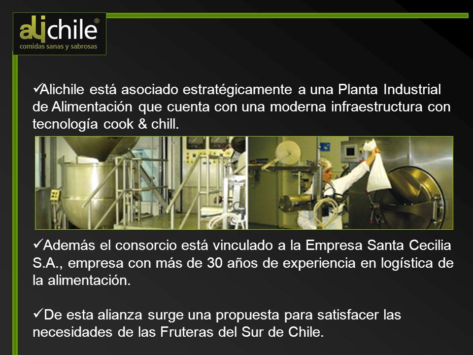 AliChile presentó a su cliente un proyecto innovador, eficiente y de calidad, basado en la moderna tecnología Cook & Chill 1.