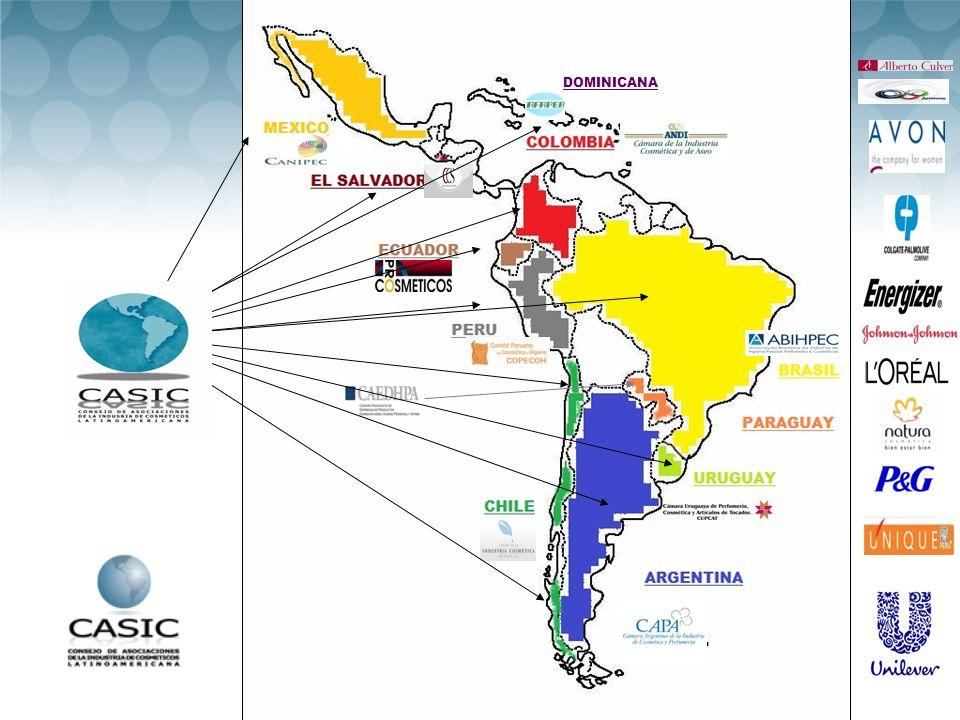 CASIC + Reunión de Autoridades Centroamericanas Nov 2011 – El Salvador PCPC Colipa – Cosmetics Europe CASIC Pte Autoridades