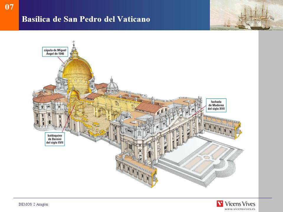 DEMOS 2 Aragón Basílica de San Pedro del Vaticano 07