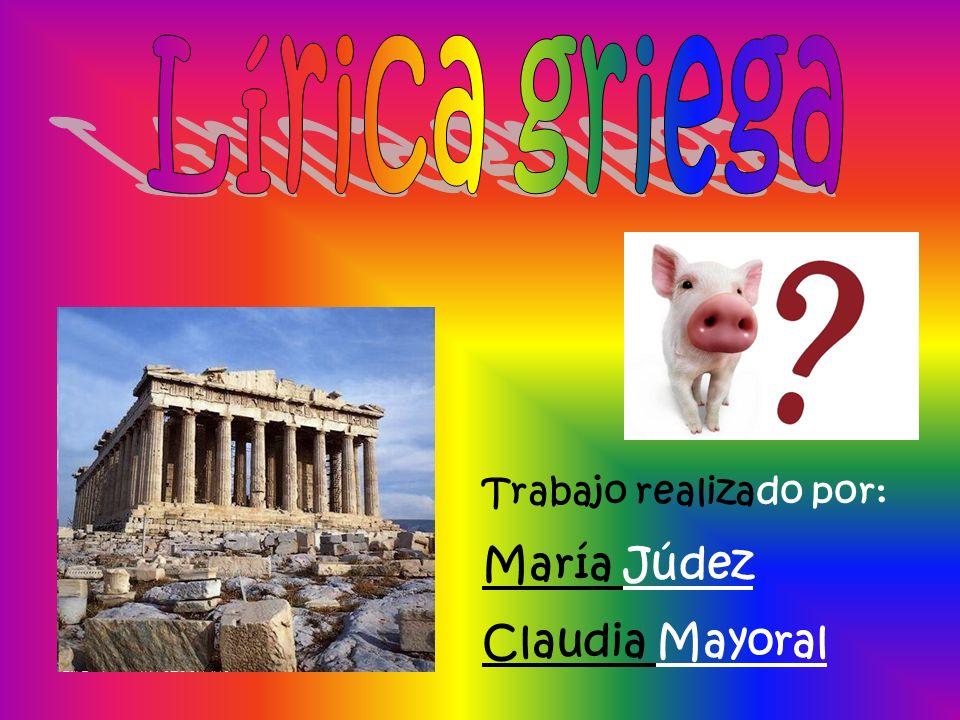 Trabajo realizado por: María Júdez Claudia Mayoral