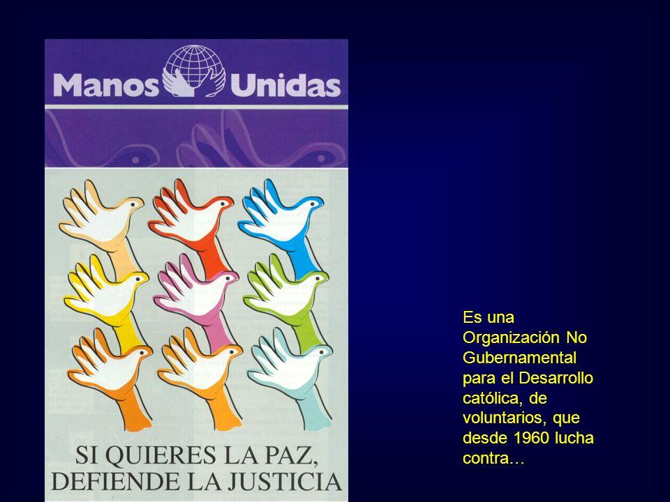 Es una Organización No Gubernamental para el Desarrollo católica, de voluntarios, que desde 1960 lucha contra…