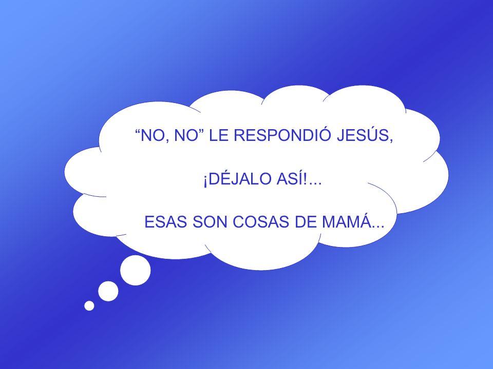ACEPTÓ JESÚS ACOMPAÑARLO Y VIO QUE DEL HUECO DESCUBIERTO, COLGABA HACIA LA TIERRA UN INMENSO ROSARIO, POR DONDE CONSTANTEMENTE MUCHAS ALMAS SUBÍAN. AL