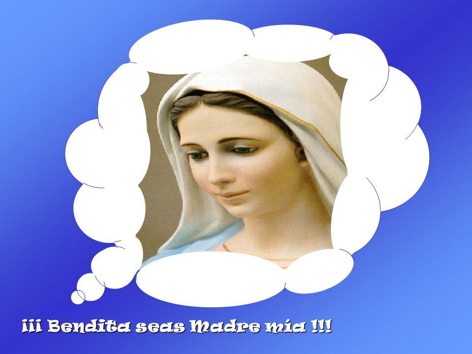 NO, NO LE RESPONDIÓ JESÚS, ¡DÉJALO ASÍ!... ESAS SON COSAS DE MAMÁ...